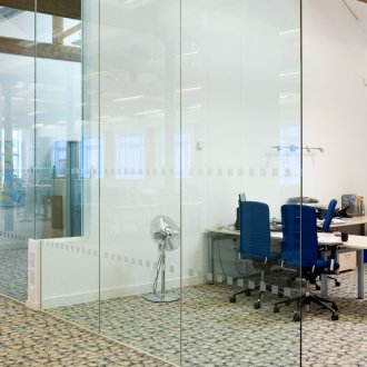 50mm Frosted Manifestation Squares with 50mm Gaps