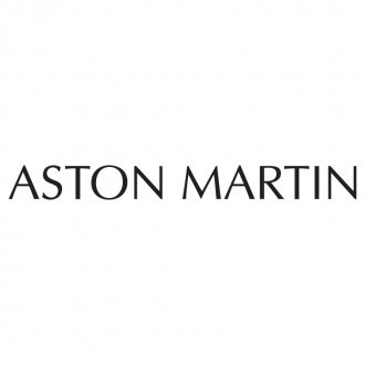 Aston Martin Text Vinyl Sticker