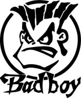Bad Boy Vinyl Sticker