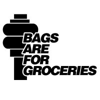 Bags are for Groceries Vinyl Sticker