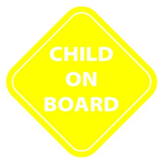 Child on Board Vinyl Sticker