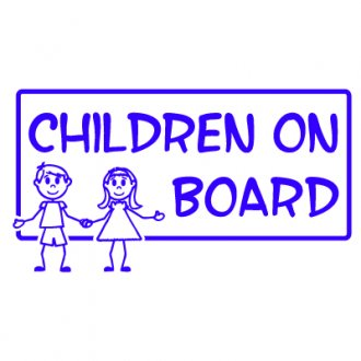 Children on Board Vinyl Sticker