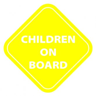 Children on Board Vinyl Sticker 2