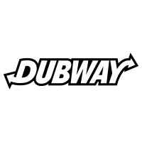 Dubway (1 colour) Vinyl Sticker