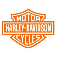 Harley Davidson Motor Cycles Vinyl Sticker