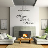 Home Sweet Home Living Room Vinyl Wall Art Sticker