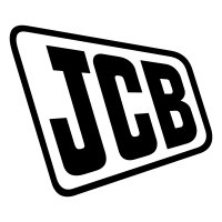 JCB Old Vinyl Sticker