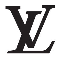 Louis Vuitton LV Logo Vinyl Sticker
