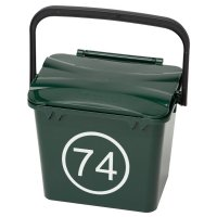 Mini Bin Numbers (Round Outline)