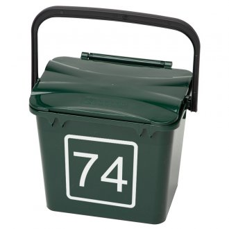 Mini Bin Numbers (Square Outline)