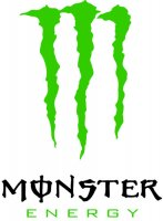 Monster Energy Vinyl Sticker (BlackText)
