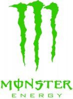 Monster Energy Vinyl Sticker