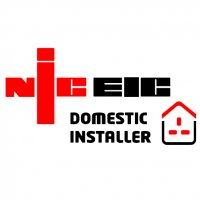 NIC EIC Domestic Installer Vinyl Sticker
