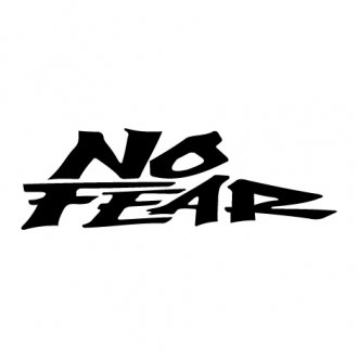 No Fear Vinyl Sticker (Type 2)