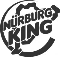 Nurburgring Nurburg King Vinyl Sticker (1 Colour)