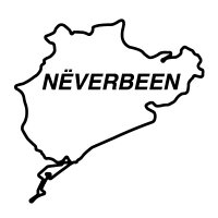 Nurburgring - Neverbeen Sticker