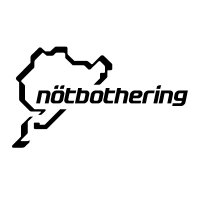 Nurburgring NEW - Notbothering Sticker