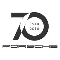 Porsche 70 Years Vinyl Sticker
