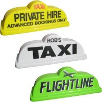 Taxi Magnetic Roof Sign