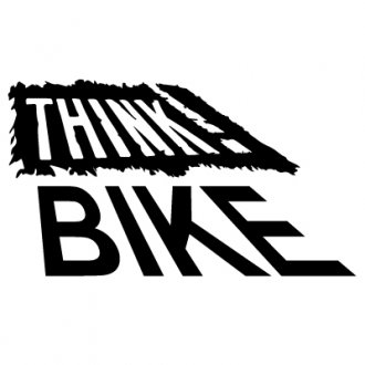 Think Bike Vinyl Sticker