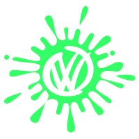 Volkswagen VW Splat Vinyl Sticker 2