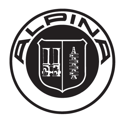 Alpina Badge Vinyl Sticker 1
