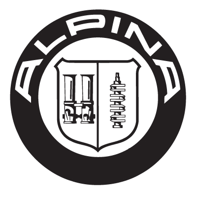 Alpina Badge Vinyl Sticker 2