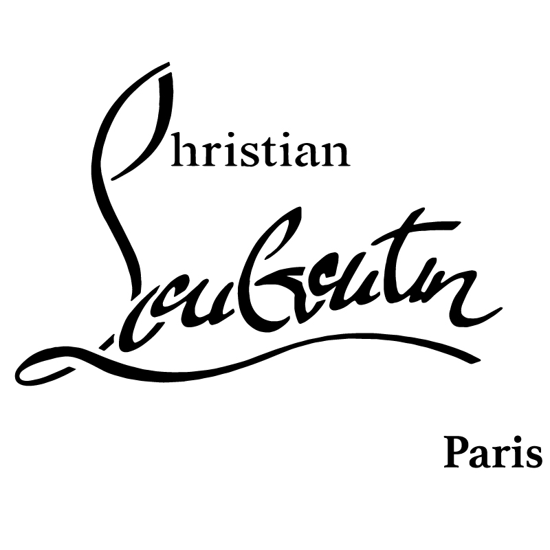 Christian Louboutin Paris Vinyl Sticker
