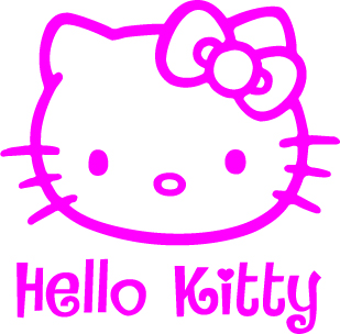 Hello Kitty Vinyl Sticker