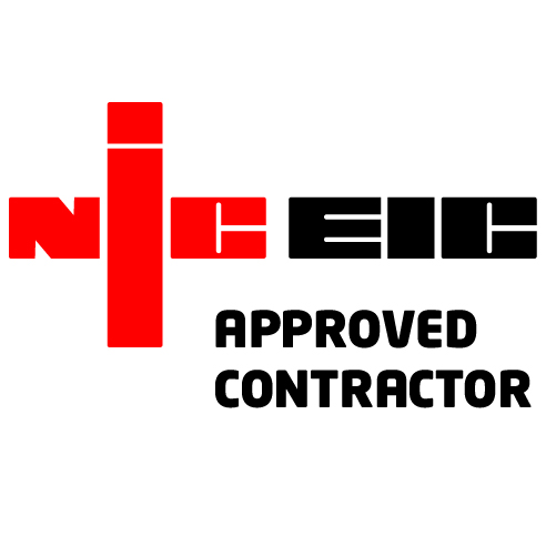 NIC EIC Approved Contractor Vinyl Sticker
