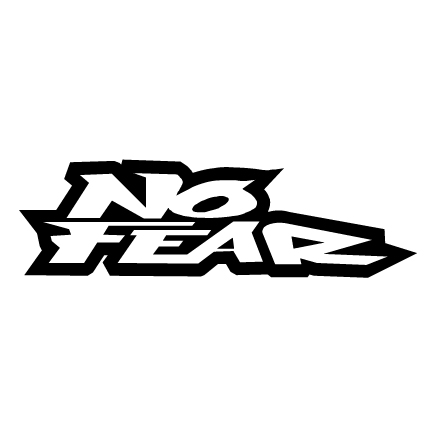No Fear Vinyl Sticker (Type 1)