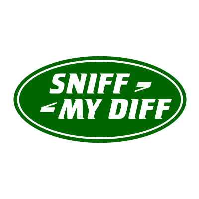 Sniff My Diff 4x4 Vinyl Sticker