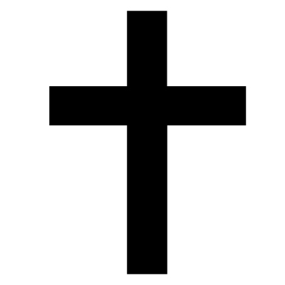 The Cross (Christian Symbol) Vinyl Sticker