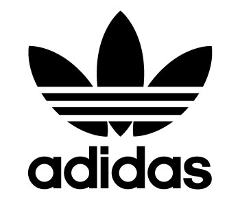 Adidas Retro Vinyl Sticker