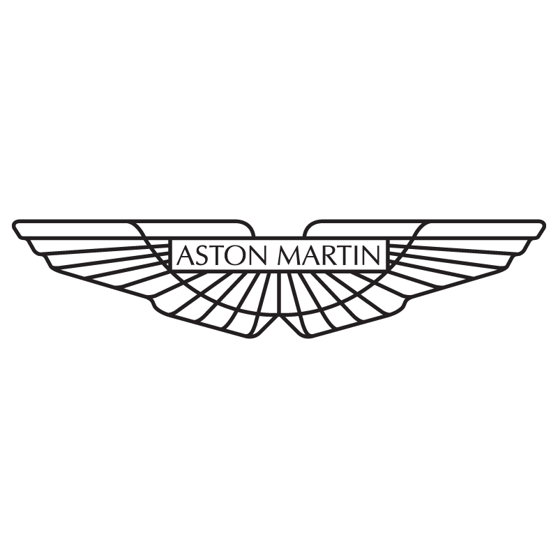Aston martin logo vinyl sticker 163 1 99 blunt one
