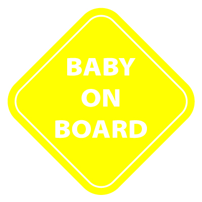 Baby on Board Vinyl Sticker