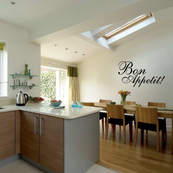 Bon Appetit Kitchen Vinyl Wall Art Sticker