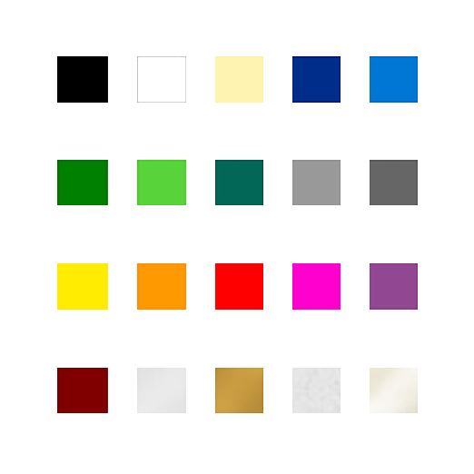 Vinyl Colour Sample (100mm Square)