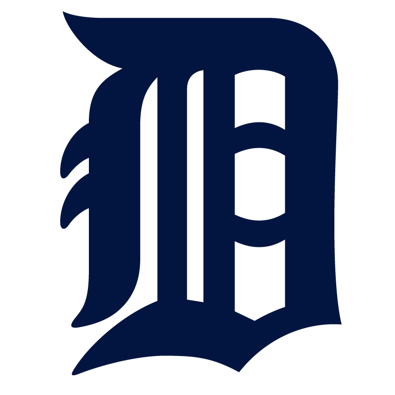 Detroit Tigers Vinyl Sticker
