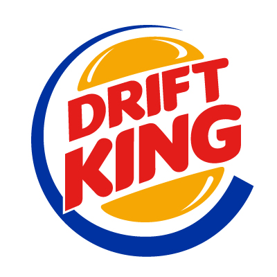 Drift King Vinyl Sticker