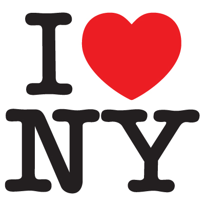 I Love New York Vinyl Sticker (I Love NY)