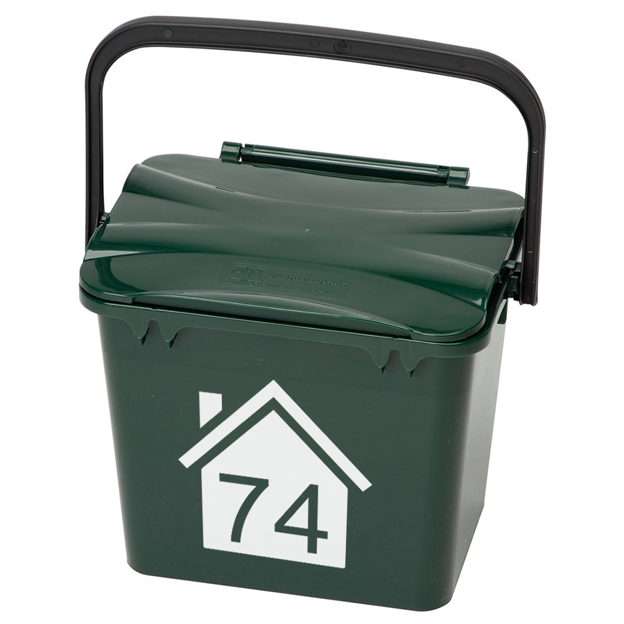 Mini Bin Numbers (House)