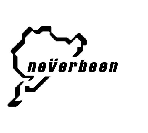 Nurburgring NEW - Neverbeen Sticker
