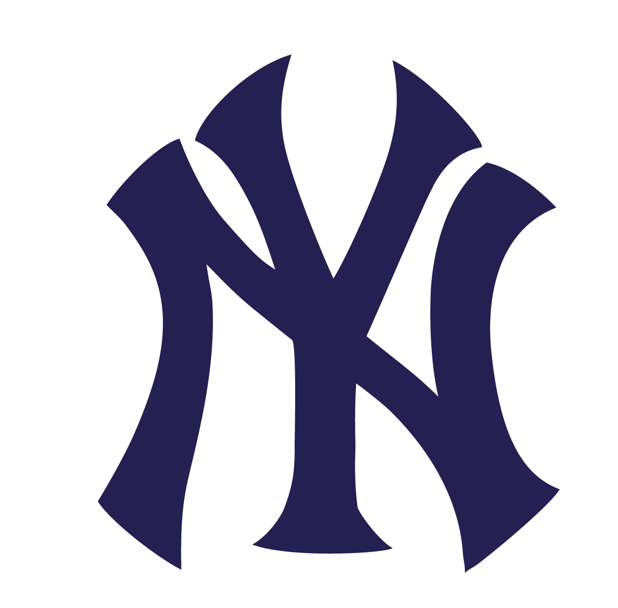 New York Yankees Logo Vinyl Sticker 163 1 99 Blunt One