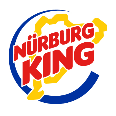 Nurburgring Nurburg King Vinyl Sticker (3 colour)