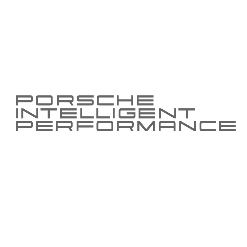 Porsche intelligent performance l h vinyl sticker