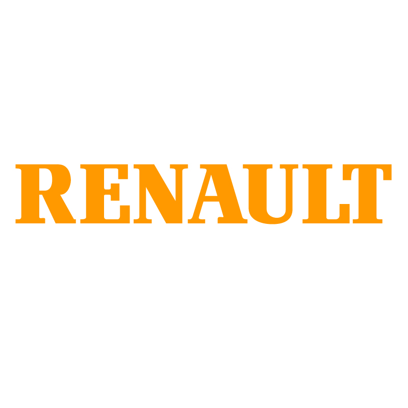 Renault Text Vinyl Sticker
