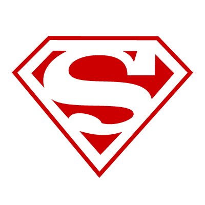 Superman Vinyl Sticker