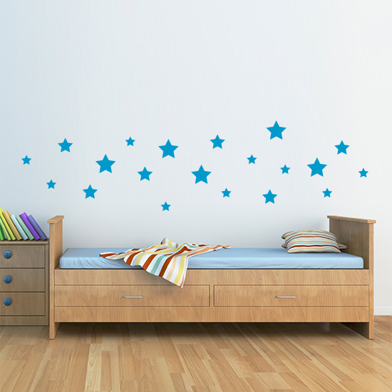 Vinyl Wall Art Star Stickers